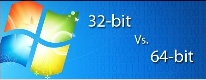 64-bit & 32-bit Windows