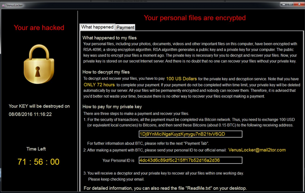 Aes256 Ransomware