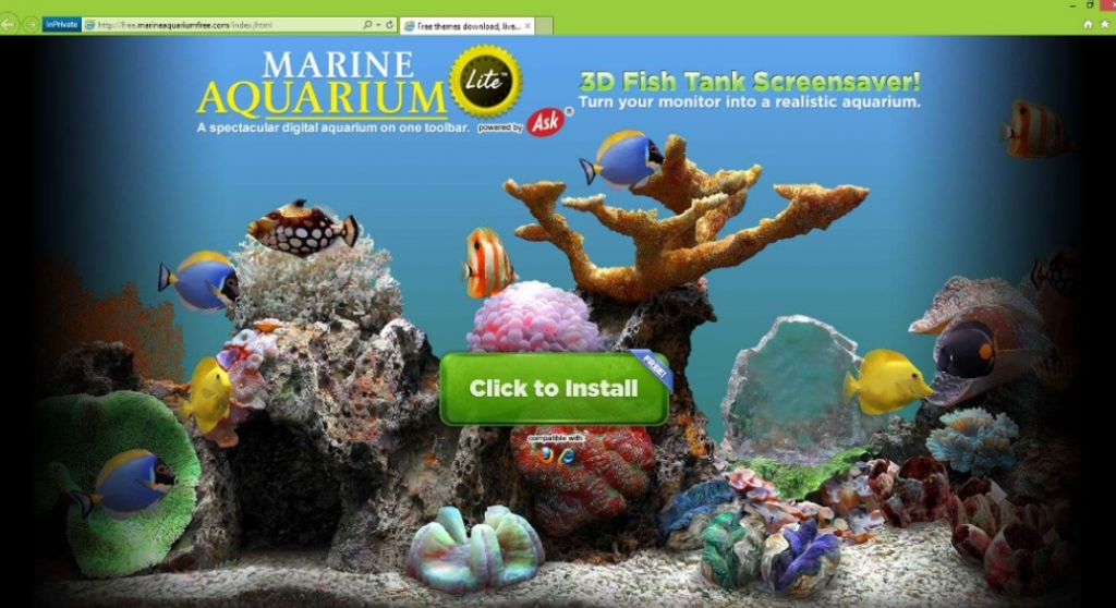 MarineAquariumLite Toolbar