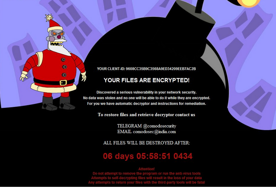 MerryChristmas Ransomware