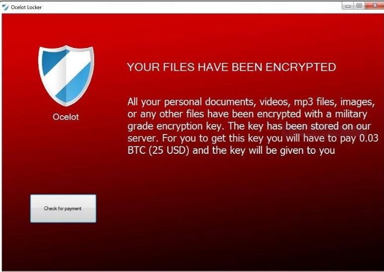Ocelot Ransomware