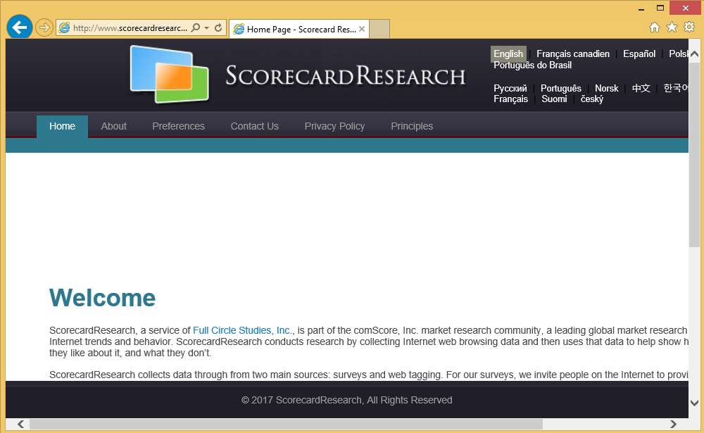 ScorecardResearch
