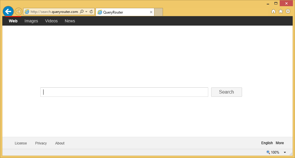 Search Query Router