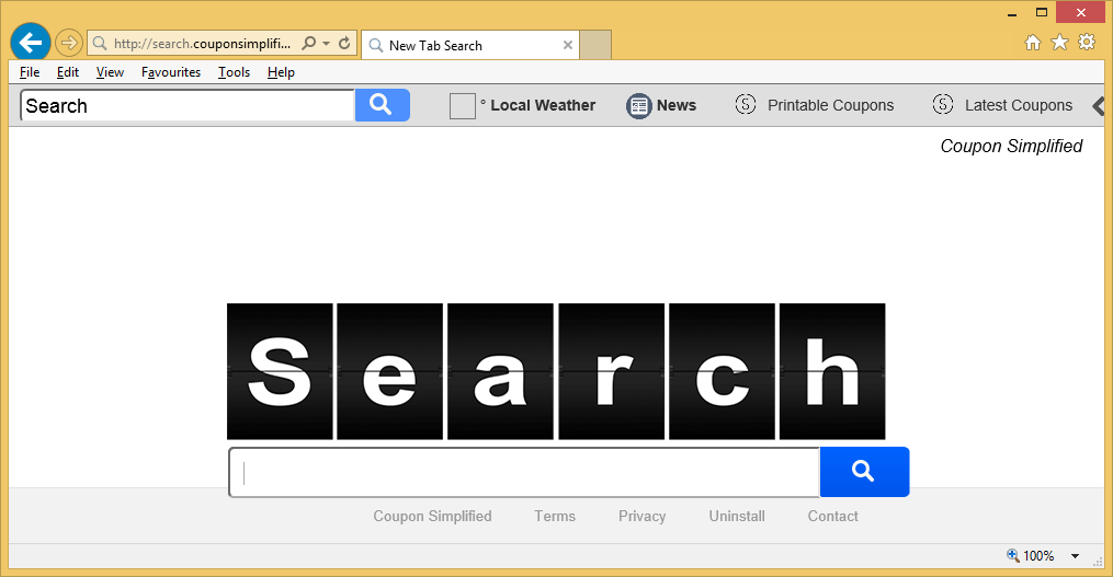 Search-couponsimplified