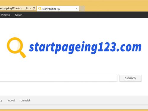 Usuń StartPageing123.com
