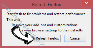 Search.moviecorner.com Firefox reset confirm