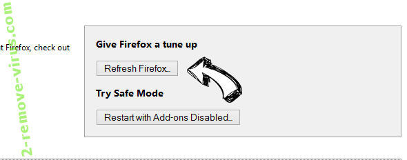 Search.tapufind.com Firefox reset
