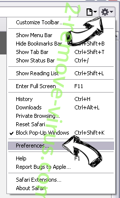 Kipuu.cn Safari menu