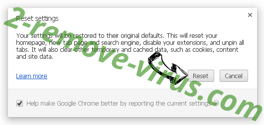 Search.qamails.com Chrome reset