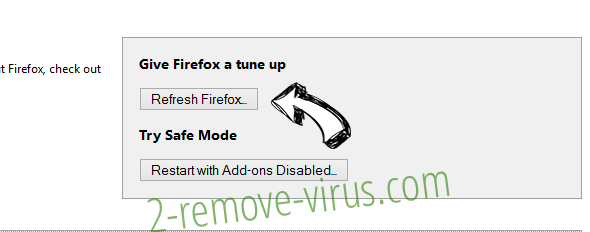 Search.qamails.com Firefox reset