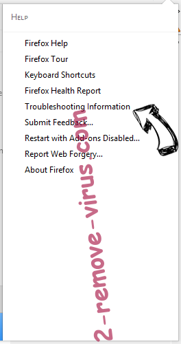 Search.qamails.com Firefox troubleshooting