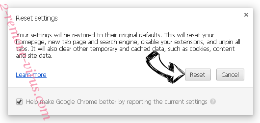 DefendSearch.com Chrome reset