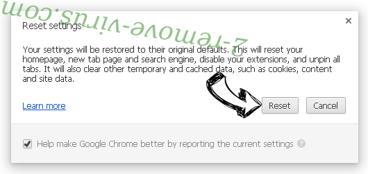 Chrome-tab.com Chrome reset