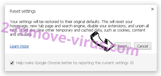 Chromesearch.info Chrome reset