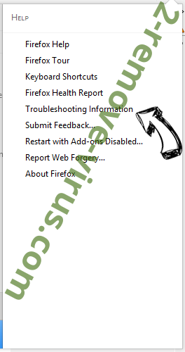 Chromesearch.info Firefox troubleshooting