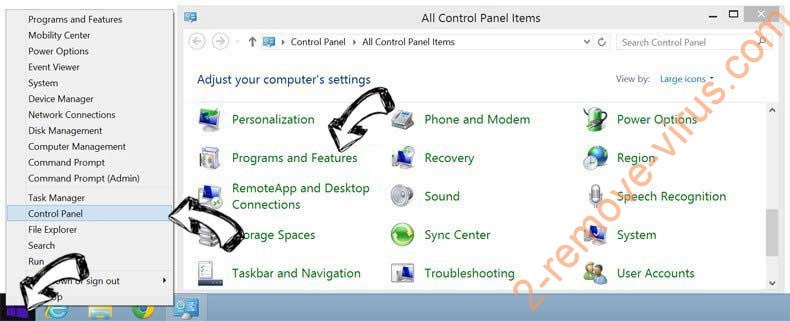 Delete EasyFileConvert from Windows 8