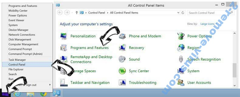 Delete WeatherBug virus from Windows 8
