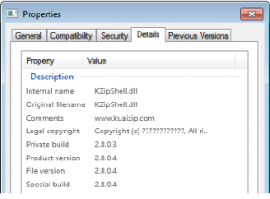 Remove KZIPSHELL.DLL