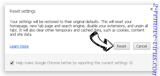 BrowserWeb Ads Chrome reset