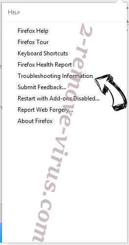 Deparationew.info Firefox troubleshooting