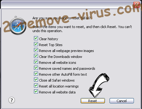 Digital Coin Tracker Virus Safari reset