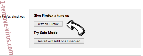Yotosearch.com Firefox reset