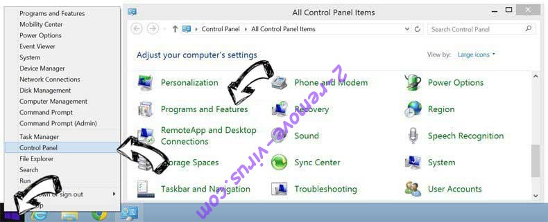 Delete iPrivate Multi Search from Windows 8