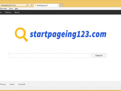 Fjern StartPageing123 Virus