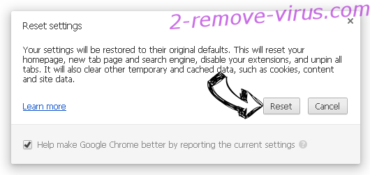 Advancednews.net Chrome reset