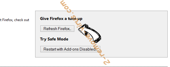 Advancednews.net Firefox reset