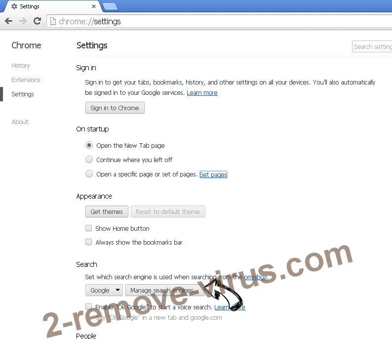 Note Homepage Toolbar Chrome extensions disable