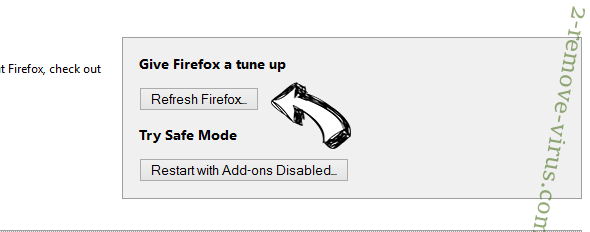 Note Homepage Toolbar Firefox reset