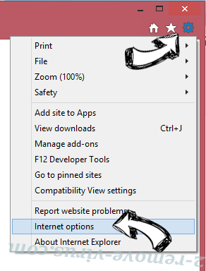 Note Homepage Toolbar IE options