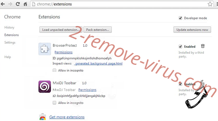 Easy To Watch Tv Virus Chrome extensions remove