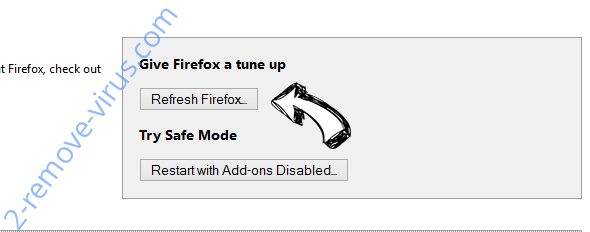 Search Tab New Firefox reset
