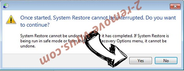 Pay_creditcard Ransomware removal - restore message