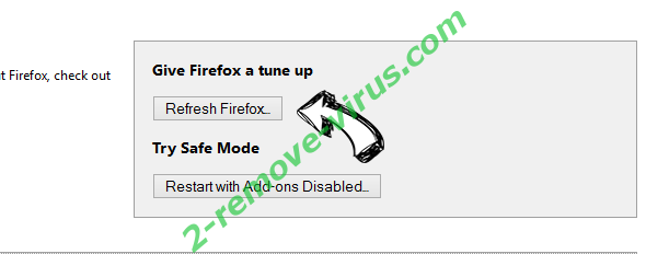 Home.searchpulse.net Firefox reset