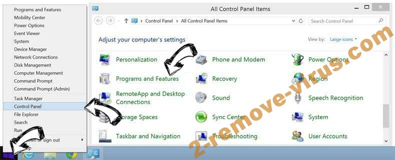 Delete 6789.com Virus from Windows 8