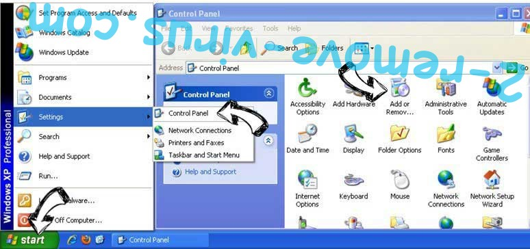 Remove Quidt.com from Windows XP
