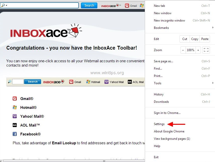Inbox Ace Toolbar