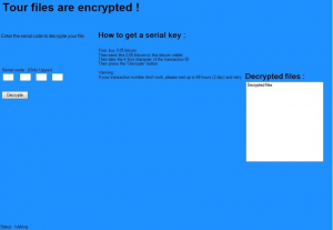 Remove PshCrypt Ransomware