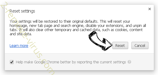 Home.lightdials.com Chrome reset