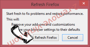 Home.lightdials.com Firefox reset confirm