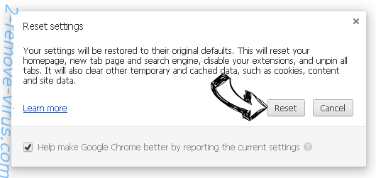 Hatnofort.com Chrome reset