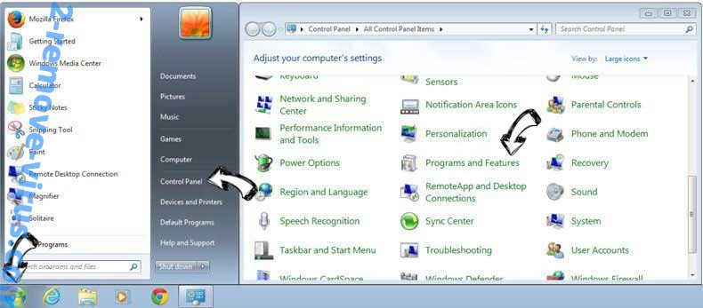 Uninstall MyScrapNook Toolbar from Windows 7