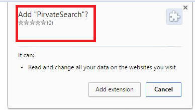 PirvateSearch extension