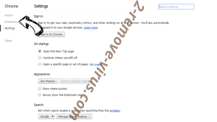 3bloginfo.com Chrome settings