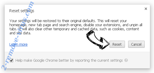 2infoblog.net Chrome reset