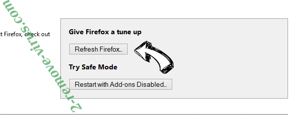 Start.wow.com Firefox reset