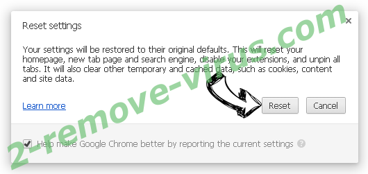 aserveradedomaina.com Chrome reset